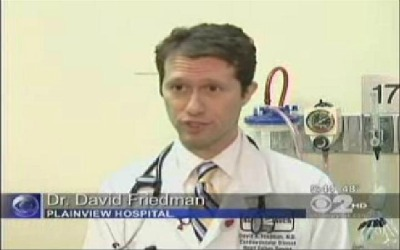 CBS image of Dr. David Friedman